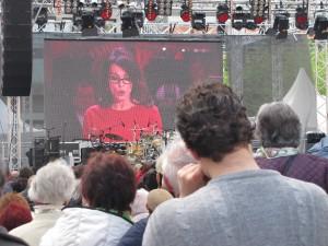 Von Gala zu Gala: Frau Berben auf dem SPD-Fest in Leipzig
