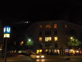 La nuit avant le Maison de France a Berlin (Bild: V.S.)